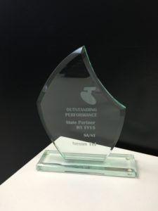 Telstra award