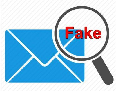 An IMPORTANT WARNING  – be aware of suspicious emails