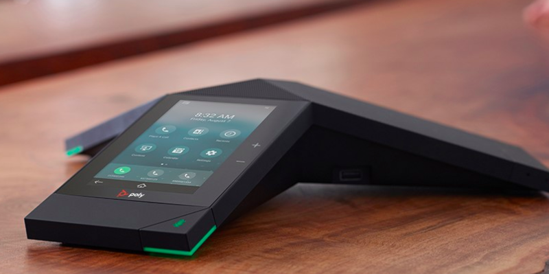 Poly's Office 365 enabled devices exemplify modern workplace hardware
